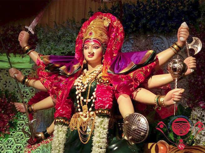 Durga Visarjan 2019 : Durga Maa Bidai Ka Vahan | हाथी ना घोड़ा ना कोनो  सवारी, इस वर्ष ऐसे जा रहीं मां भवानी - Navaratri Durga Puja | नवभारत टाइम्स
