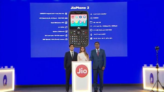 Jio Phone 2 Features Or Price, Offer