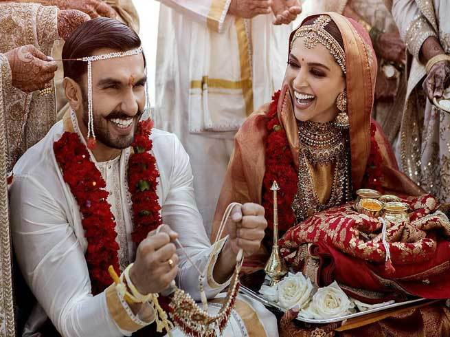Deepika Ranveer Wedding Photos: देखिए शादी की पहली तस्वीरें