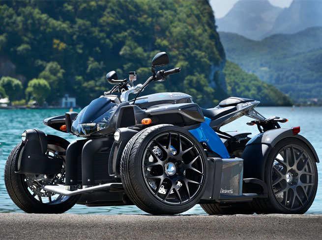लुडोविक लाजेरेथ की शानदार मोटरबाइक्स