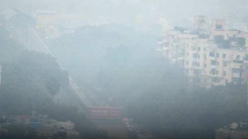 प्रदूषण का स्तर खतरनाक लेवल पर