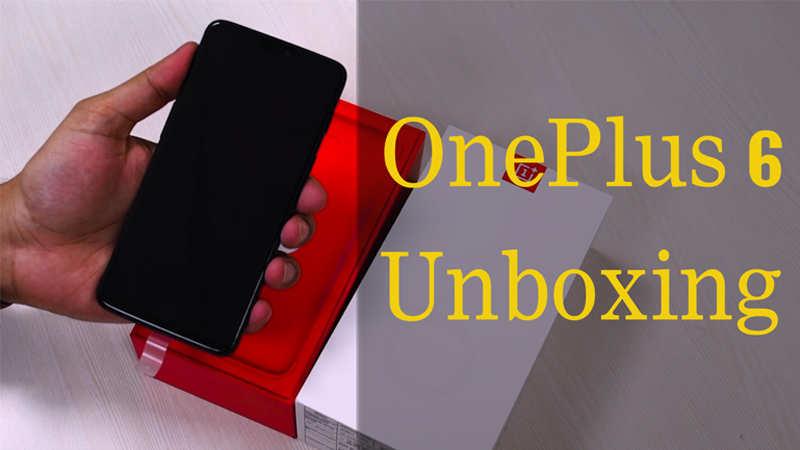 OnePlus 6 unboxing - वनप्लस 6 की अनबॉक्सिंग