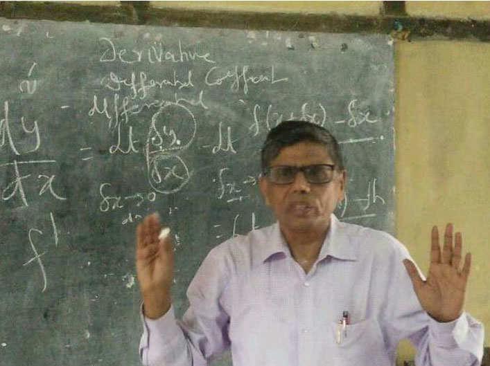 asam farmer dgp mukesh sahay become math teacher in government school