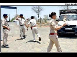 mandsaur police made jugaad vajra vehicles