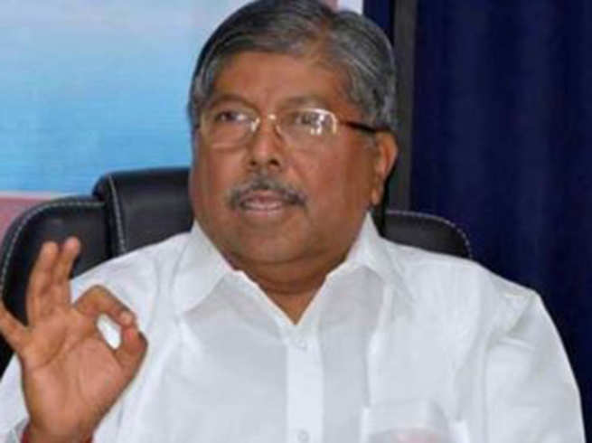 congress may come to power in maharashtra if bjp sena break ties chandrakant patil