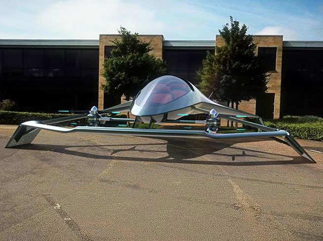 ऐस्टन मार्टिन की पहली फ्लाइंग कार, देखें तस्वीरें