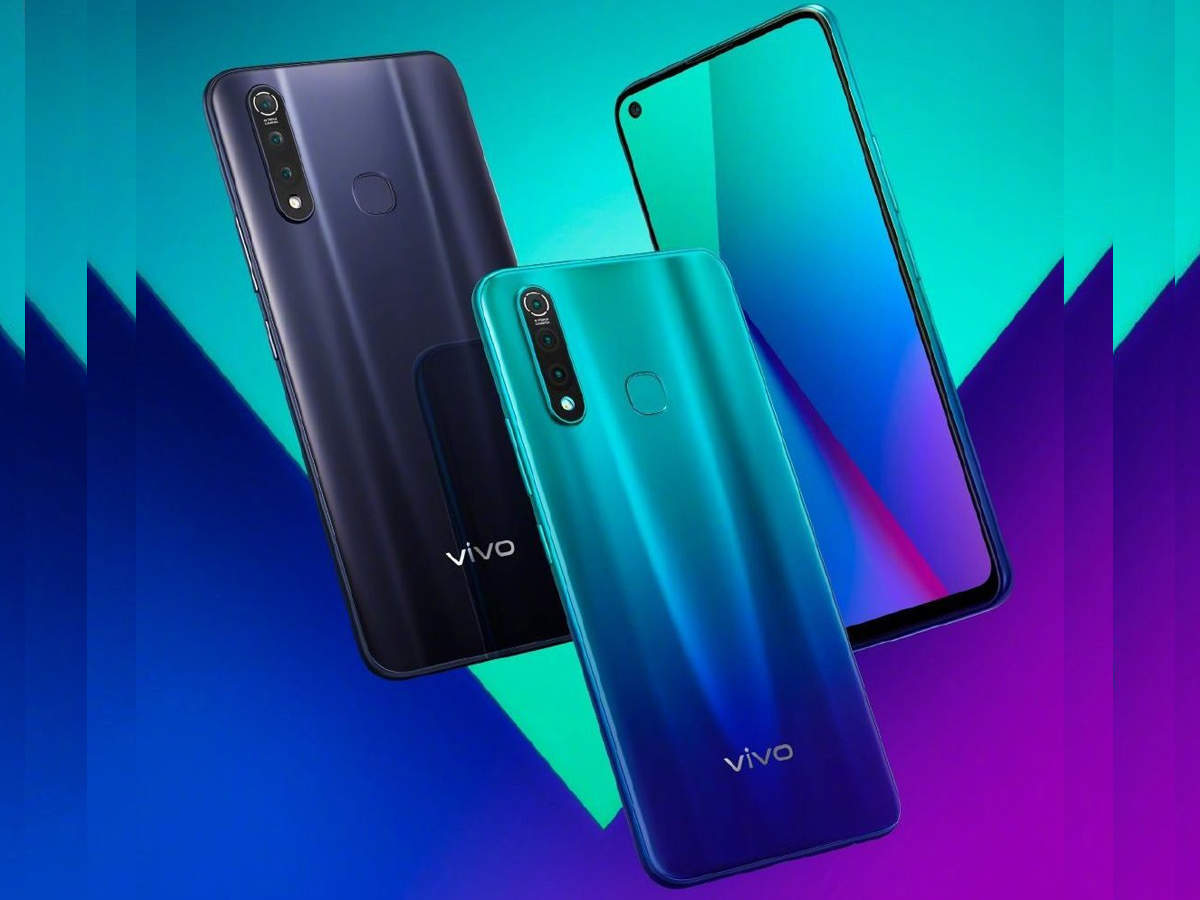 vivo z5x: 5,000mAh बैटरी के साथ Vivo Z5x लॉन्च, पंच-होल डिस्प्ले वाला कंपनी का पहला फोन - vivo z5x with hole-punch display and 5,000mah battery launched: know price, specifications