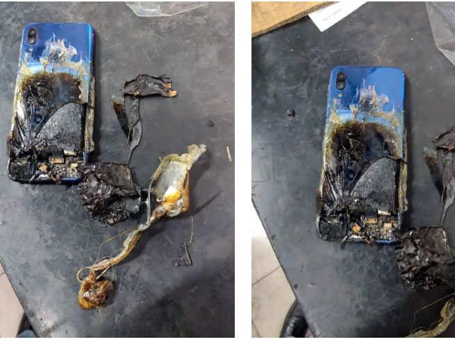 Xiaomi phone blast - शाओमी के स्मार्टफोन में लगी आग, कंपनी के जवाब से कस्टमर हैरान