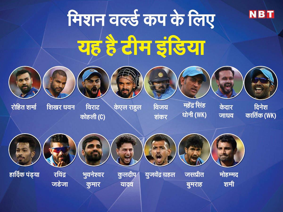 मिशन वर्ल्ड कप: ऐसी ही टीम इंडिया