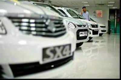 Shinzo Nakanishi the outgoing CEO of Maruti said that it was a challenging year for auto sector and share of diesel vehicles sales went up by 58% in FY-13 as against 48% (YoY).