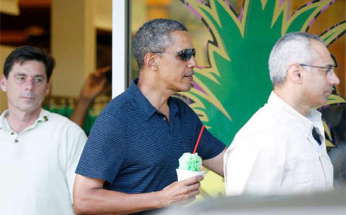 ओबामा ने सादगी से मनाया नया साल