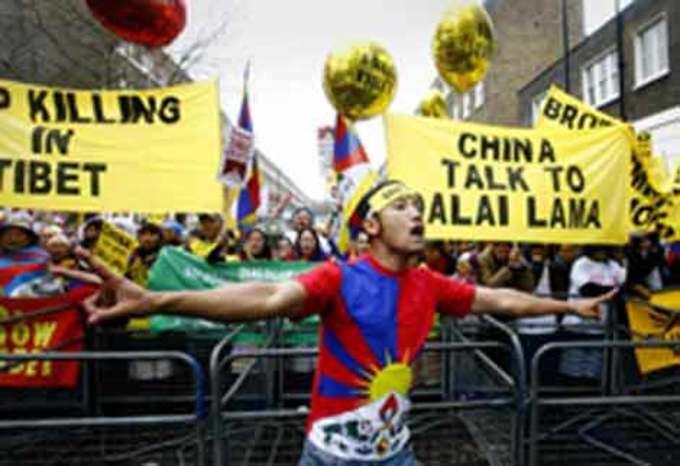 तिबेटीचा आक्रोश