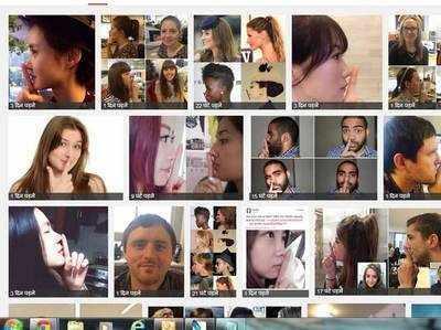 इंटरनेट पर छा गया है फिंगर ट्रैप टेस्ट (फोटो गूगल इमेज)