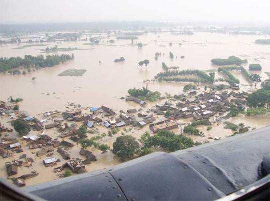 यूपी : बाढ़ से अबतक 63 की मौत, लाखों अब भी प्रभावित