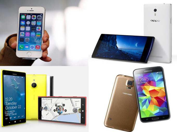 10 अच्छे स्मार्टफोन, जिनके दाम बहुत घटे
