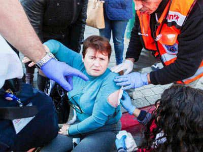 हमले में घायल महिला
