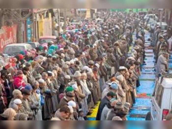ದಶಕದಲ್ಲಿ ಮುಸ್ಲಿಮರ ಜನಸಂಖ್ಯೆ ಶೇ.24ರಷ್ಟು ಏರಿಕೆ