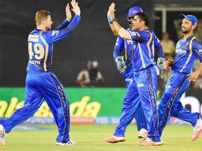 राजस्थान रॉयल्स ने मुंबई इंडियंस को सात विकेट से हरा दिया।
