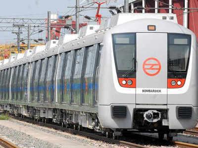 मेट्रो पर लगा भूकंप का 'पावर ब्रेक'