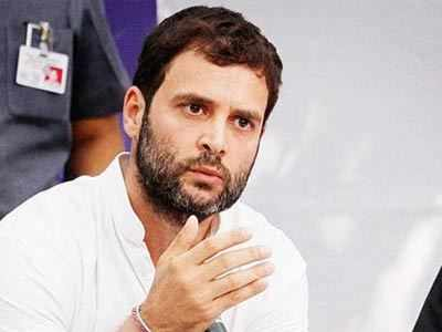 कांग्रेस उपाध्यक्ष राहुल गांधी