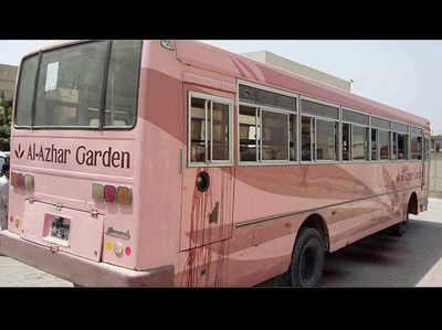 कराची में बस पर हमला