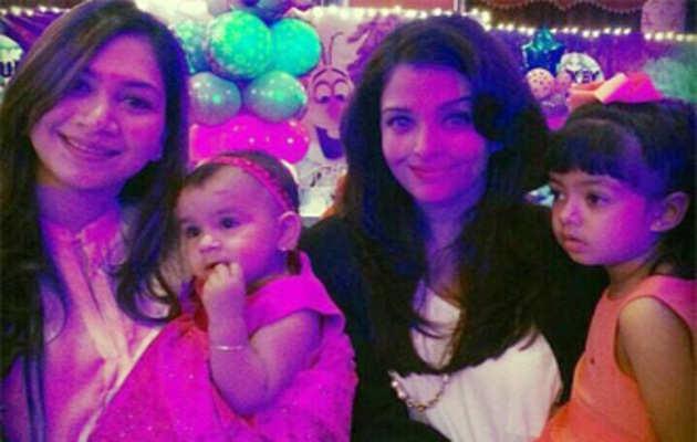 ऐश्वर्या ने बेटी आराध्या के साथ की पार्टी