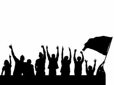 विरोध प्रदर्शन (सांकेतिक चित्र)