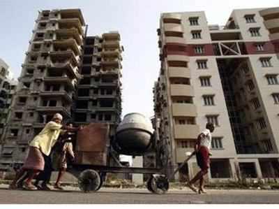 दिल्ली, नोएडा, गुड़गांव के 1.7 लाख फ्लैटों के नहीं मिल रहे खरीदारः सर्वे (प्रतीक चित्र)