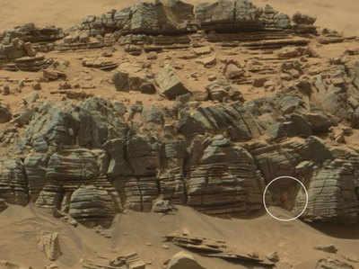 मंगल पर केकड़ा देखने का दावा (Image: NASA)
