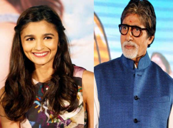 Amitabh Bachchan is Alia Bhatts student