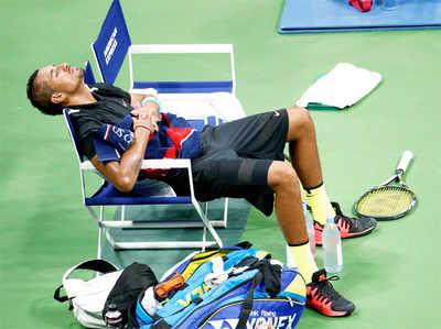 US ओपनः गर्मी के कारण रेकार्ड 10 खिलाड़ी बाहर