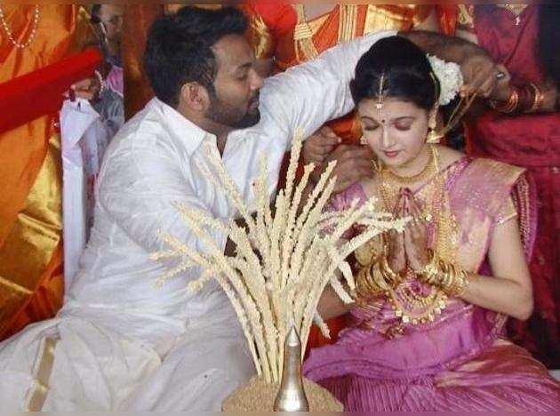 Saranya marriage