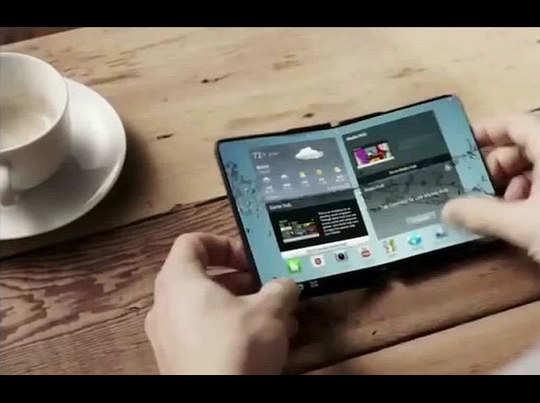 फोल्डेबल स्क्रीन वाले स्मार्टफोन्स ला रहा है सैमसंग
