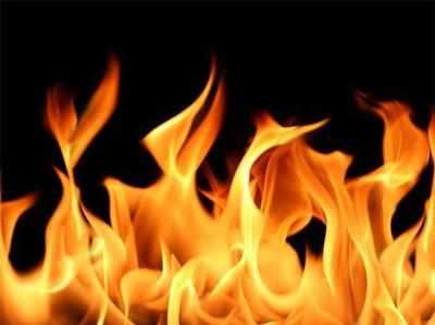 बुजुर्ग दलित को जिंदा जलाया