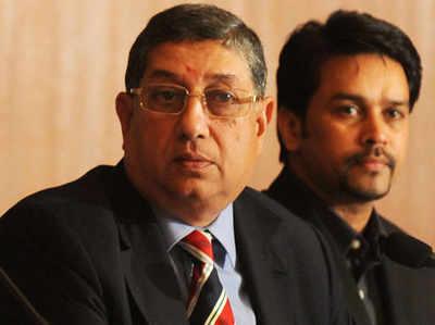 BCCI प्रेजिडेंट ने TNCA प्रतिनिधि को भेजा संदेश, श्रीनिवासन याचिका वापस लेने पर करें विचार