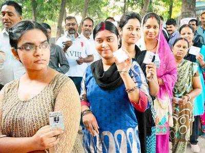 बिहार चुनावः दूसरे चरण के मतदान में भी महिलाएं आगे