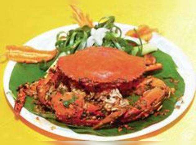 Cut the crab!