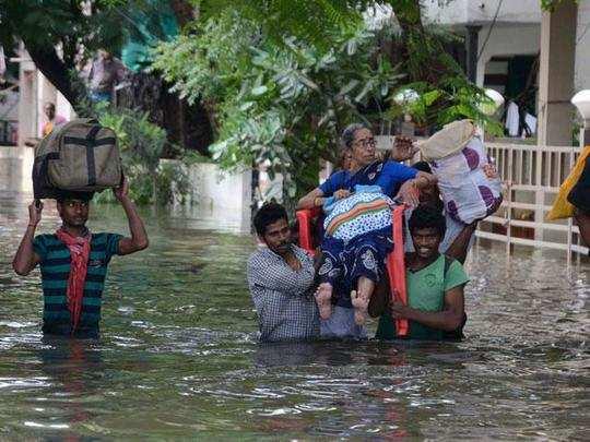ചെന്നൈയിൽ കനത്ത മഴ; കേന്ദ്രം 939 കോടി നൽകും