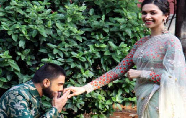 रणवीर ने दीपिका के लिए इस तरह प्यार का इज़हार किया
