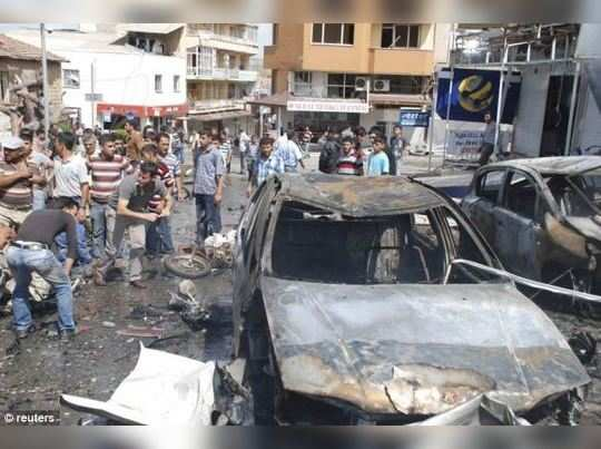 துருக்கியில் கார் வெடிகுண்டு வெடித்து 5 பேர் பலி