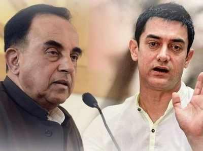 स्वामी के टारगेट पर आए आमिर