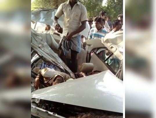 கடலூர் கார் விபத்தில் 7 பேர் பலி
