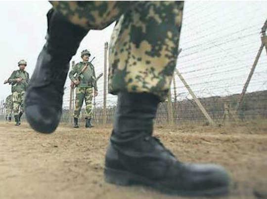बीएसएफ ने मार गिराए 4 संदिग्ध, दो पाकिस्तानी घुसपैठिये भी शामिल