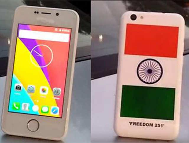 दुनिया का सबसे सस्ता स्मार्टफोन फ्रीडम 251