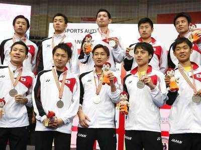 जापान की पुरुष टीम ने एशिया चैंपियनशिप में रजत पदक जीता