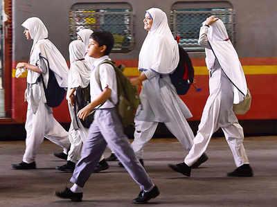 मुस्लिम छात्र (फाइल फोटो)