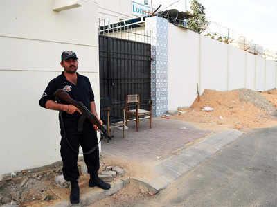 आतंकवाद निरोधक अदालत में हथगोला फटा