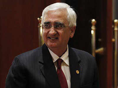 पूर्व विदेश मंत्री सलमान खुर्शीद