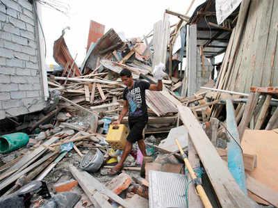 भूकंपों का दौर