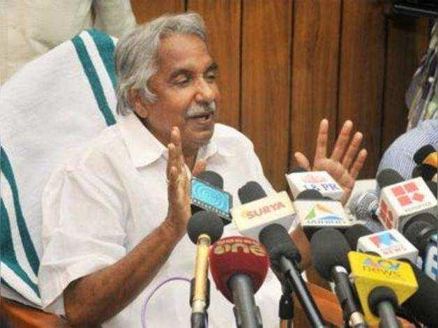 Kerala CM Oommen Chandy